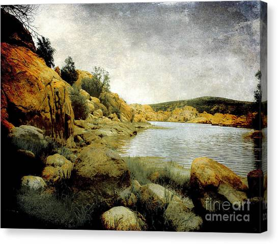 Van Goughs Ear Canvas Print - Rembrandt Colors by Arne Hansen