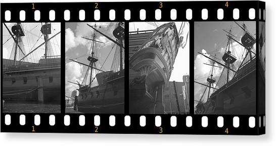 Remember This Boat Canvas Print