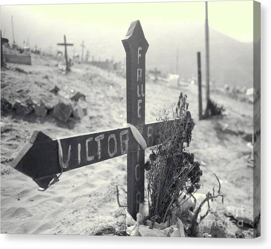 Remembering Victor Canvas Print