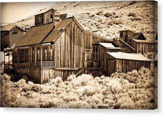 Residence At The Old Mill Canvas Print