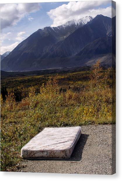 Rest And Enjoy The Great Outdoors Canvas Print