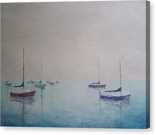 Resting Canvas Print by Janet Beckman