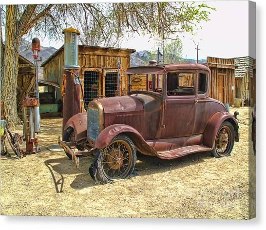 Retired Model T Canvas Print
