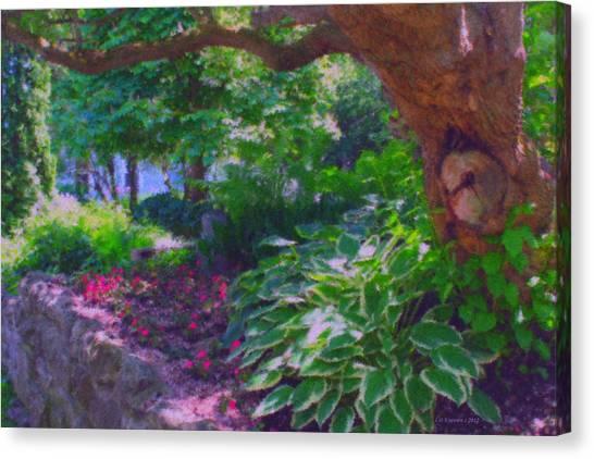 Return To The Secret Garden Canvas Print