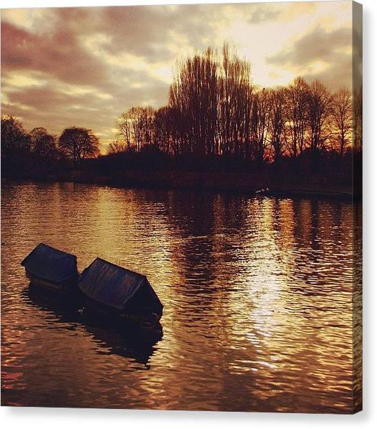 London Canvas Print - #richmond #london by Ozan Goren