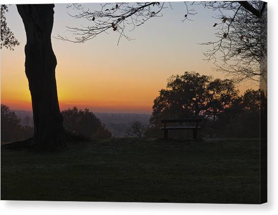 Richmond Sunset Canvas Print