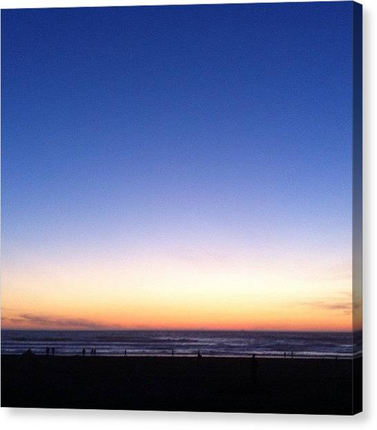 Irises Canvas Print - Ride Into The Sunset With by Iris  Malang