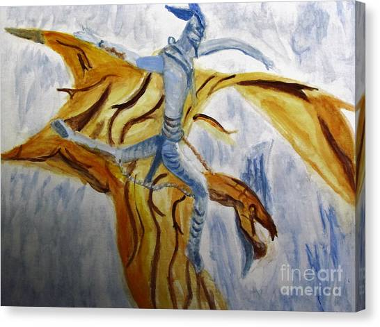 Ride Toruk The Dragon From Avatar Canvas Print