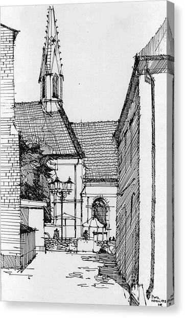 Riga - Latvia Canvas Print by Natalia Eremeyeva Duarte
