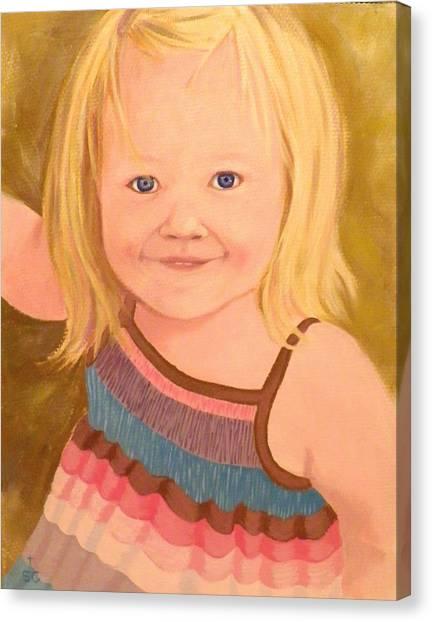 Riley Canvas Print