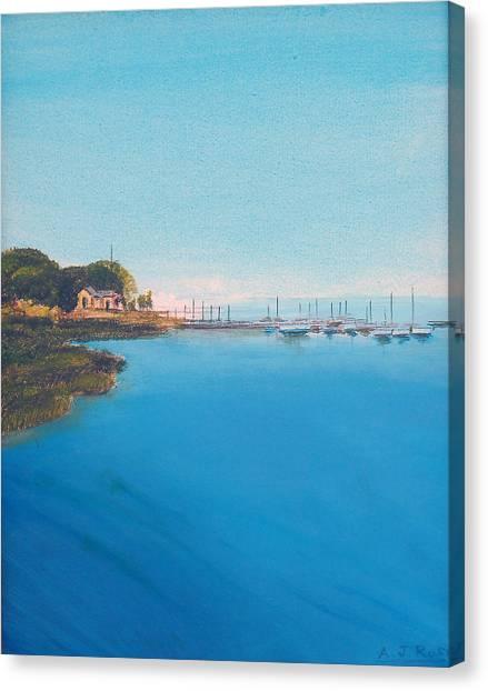 Rings Island Canvas Print
