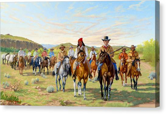 Rip Ford's Dps 1850 Canvas Print