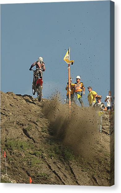 Canvas Print - Rippin' Over The Top by Larry Robinson