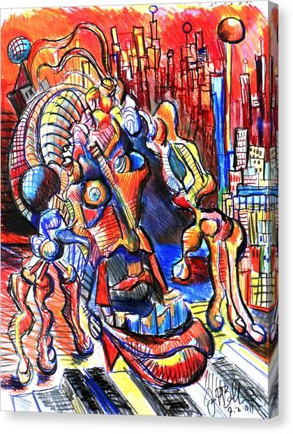 Risperdal  Canvas Print by Jon Baldwin  Art