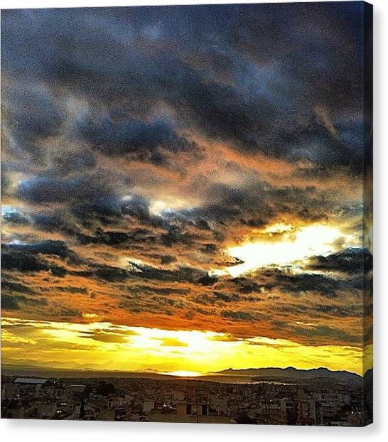 Athens Canvas Print - @ritsa's Place by Seras S
