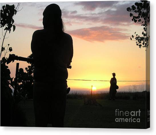 Canvas Print - Ritual Sunset by Silvie Kendall