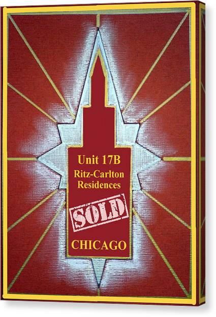 Ritz Carlton Sold Canvas Print