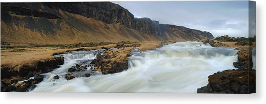 River Rapids Canvas Print by Chris Madeley