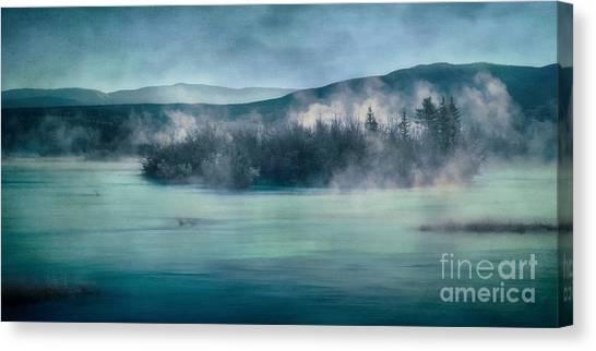 Yukon Canvas Print - River Song by Priska Wettstein