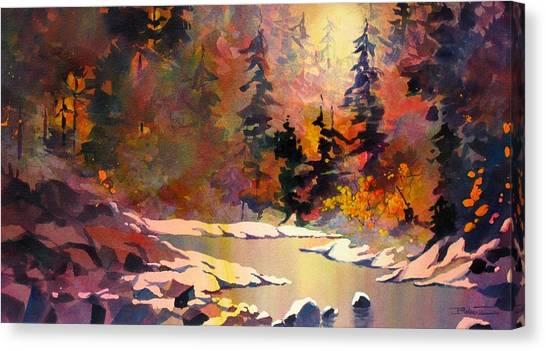 Riverglow Canvas Print