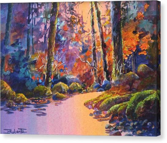 River's Palette Canvas Print