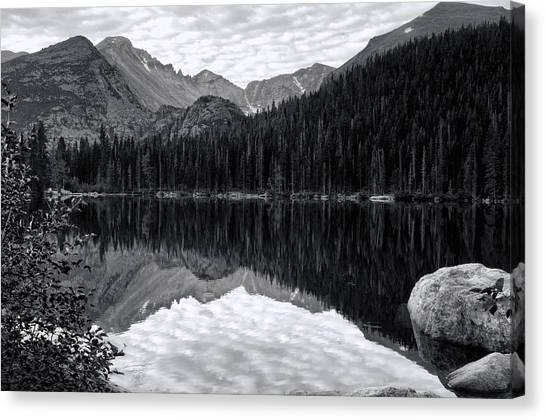 Rmnp Lake Canvas Print