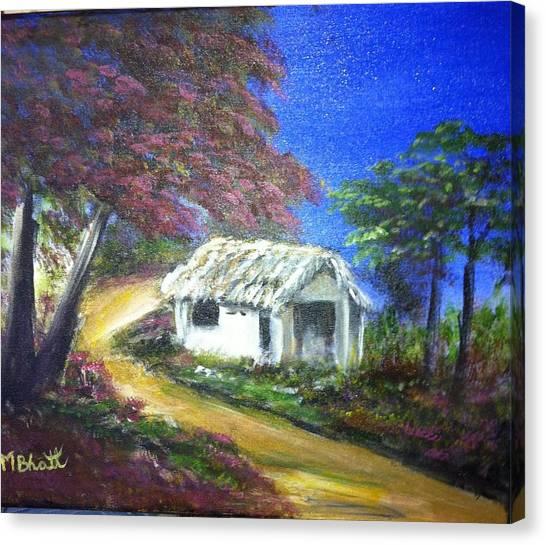 Road House Canvas Print by M bhatt