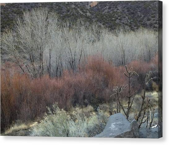 Road To Chimayo  Canvas Print