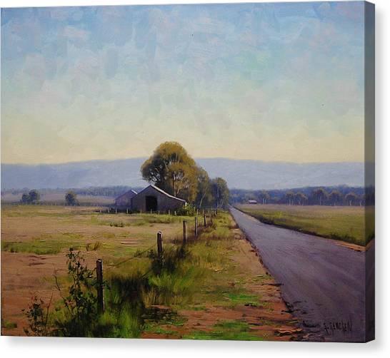 Australian Canvas Print - Road To Richmond by Graham Gercken