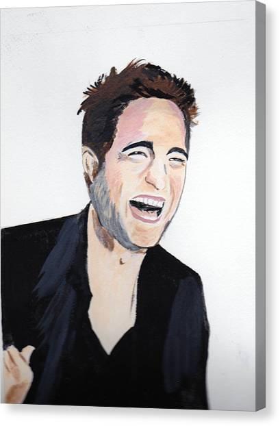 Robert Pattinson 4 Canvas Print
