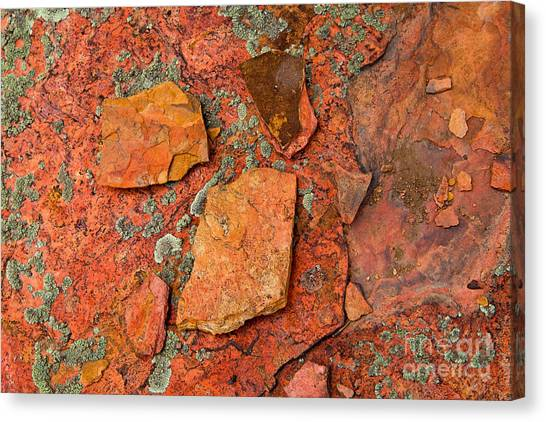 Rock Abstract Iv Canvas Print