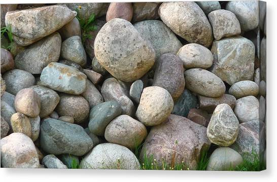 Rock Collection Canvas Print by Michael Carrothers