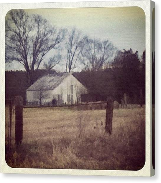 Barns Canvas Print - Rock Hill, Sc Country Side by Aaron Justice