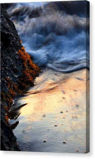 Rock Sunset Canvas Print