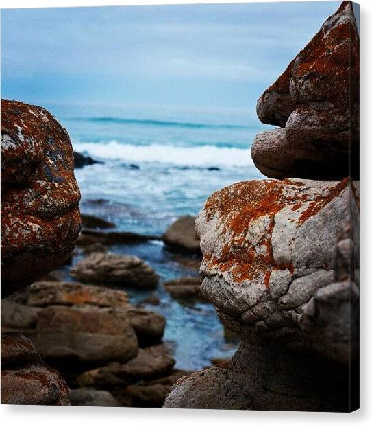 South African Canvas Print - Rock View by Yael D