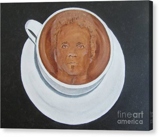 Rockin'coffee Canvas Print