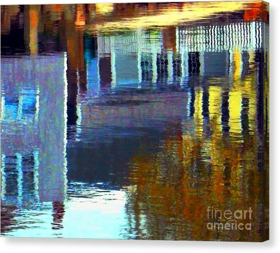 Rockport Reflections Canvas Print