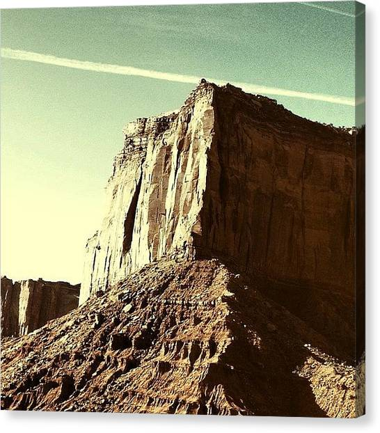 Wilderness Canvas Print - Rocks Formation by Isabel Poulin