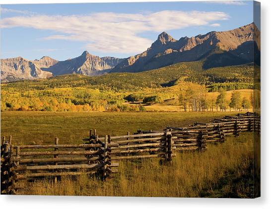 Rocky Mountain Ranch Canvas Print