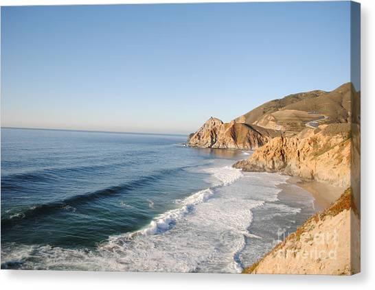 Rocky Pacific Coast Canvas Print