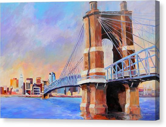 Roebling Twilight Canvas Print