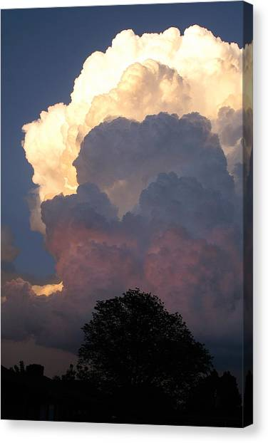 Thunderclouds Canvas Print - Roiling Thunderheads by Shawn Shea
