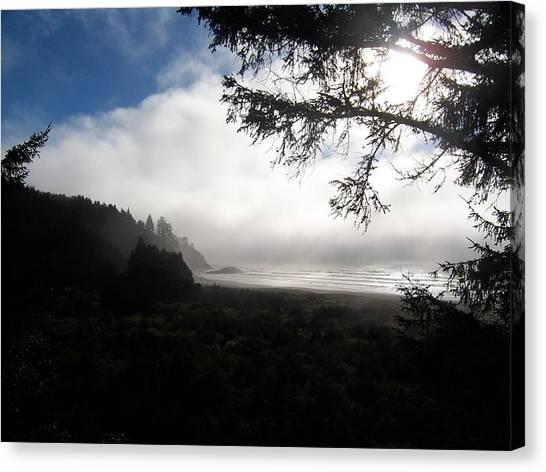 Rolling Fog Canvas Print