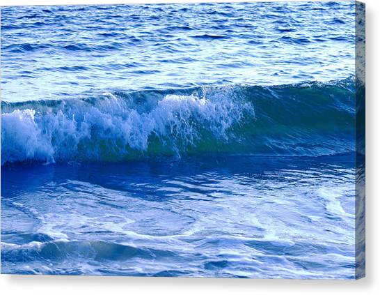 Rolling Surf Canvas Print