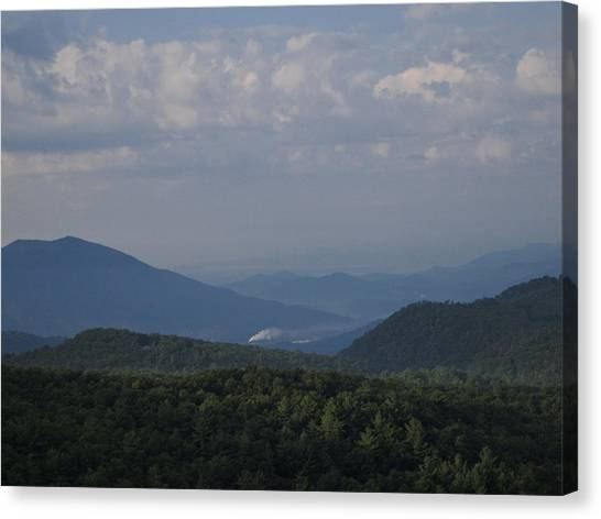 Rolling Through The Blue Ridge Canvas Print by Victoria Ashley