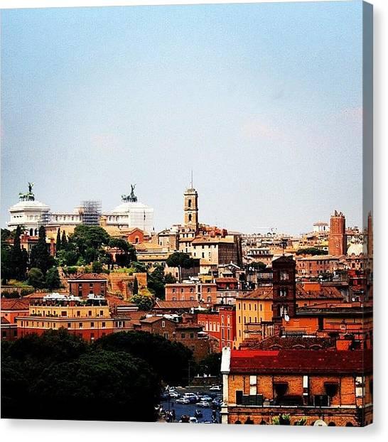 Rome Canvas Print - Roma by Luisa Azzolini