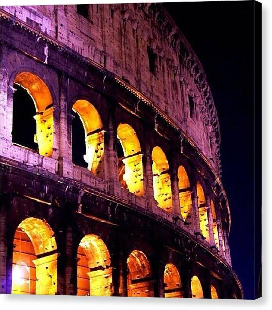 Roman Art Canvas Print - Roma by Miquel P