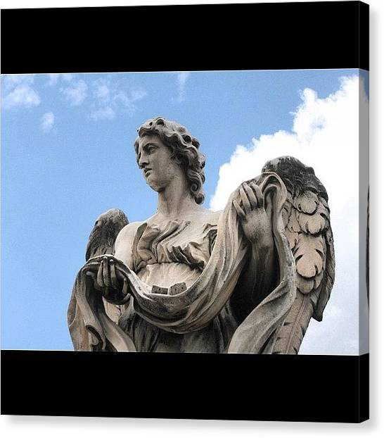 Rome Canvas Print - Roma My Angel by Chloé Tbf
