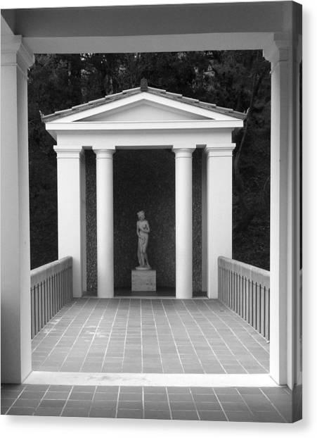 Roman Shrine  Canvas Print by Paul Washington