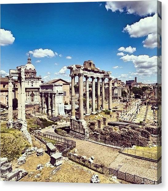 Roman Art Canvas Print - #rome #romans #italy #specialweekend by Lorenzo Petrarca